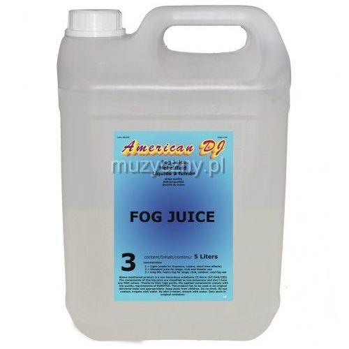 American DJ Fog Juice Heavy płyn do dymu 5 litrów