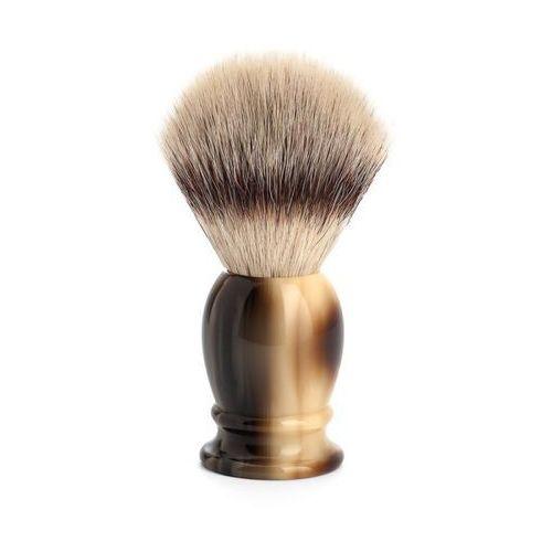 Mühle pędzel do golenia silvertip fibre, kolor jasny róg bawoli, m