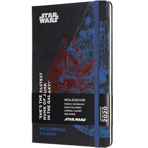 Kalendarz Moleskine 2020 Weekly, L, Star Wars edycja limitowana