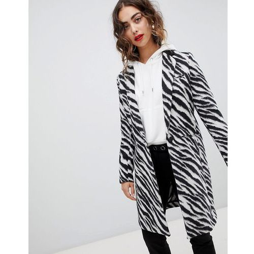 Mango zebra print coat - Multi, w 4 rozmiarach