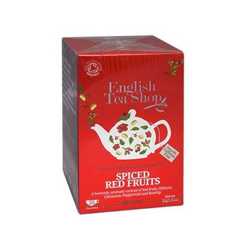 English tea shop Ets spiced red fruits 20 saszetek