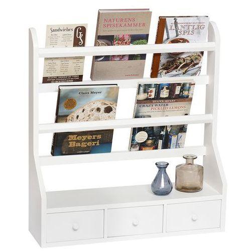 Półka ścienna z przegrodami i szufladami, mała 885026 - sprawdź w North&South Home