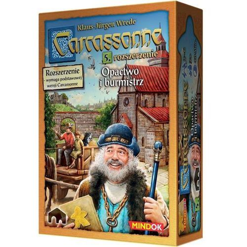Bard Gra carcassonne 2 edycja opactwo i burmistrz