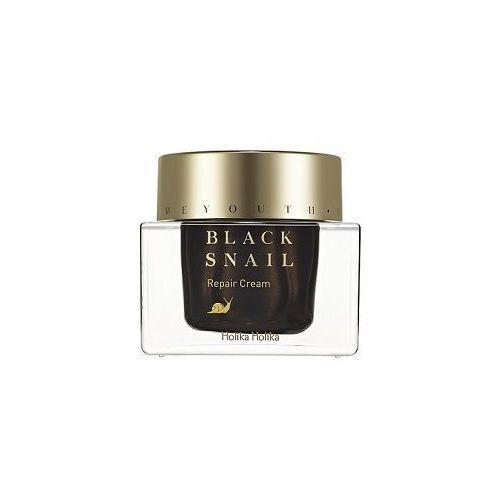 Holika holika nawilżający krem do twarzy z ekstraktem ze śluzu czarnego ślimaka, prime youth black snail repair cream 50ml (8806334358532)