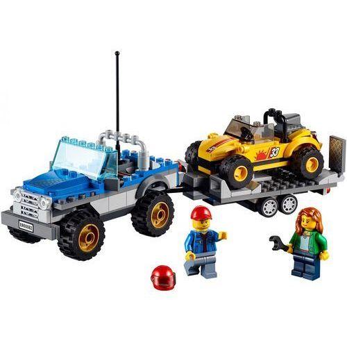 Lego City MAŁA TERENÓWKA Z PRZYCZEPKĄ 60082 z kategorii: klocki dla dzieci