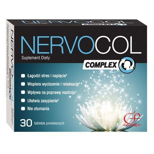 Nervocol Complex tabl. - 30 tabl. (lek uspokajające)