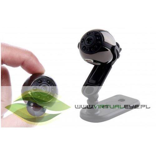 Mini kamera szpiegowska sq9 full-hd detekcja ruch marki Virtualeye