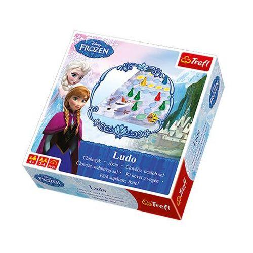 Chińczyk kraina lodu gra - dostawa zamówienia do jednej ze 170 księgarni matras za darmo marki Trefl