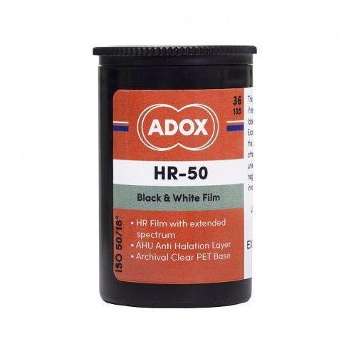 hr-50 negatyw czarno-biały iso 50/36 typ 135 marki Adox