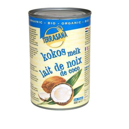 Mleczko kokosowe 22% BIO 400ml - Terrasana