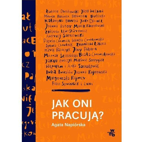 Jak oni pracują Rozmowy o pracy, pasji i codziennych sprawach polskich twórców, Agata Napiórska