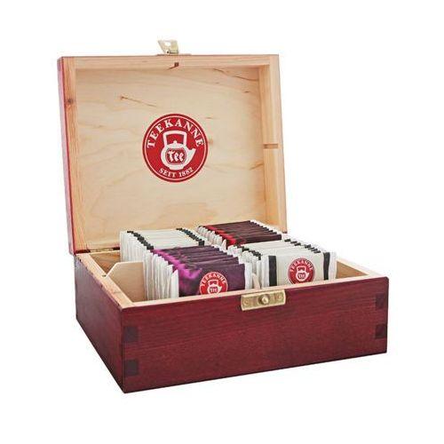 4x10szt herbata w pudełku mix smaków (40 saszetek) marki Teekanne