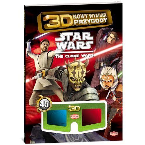 KSIĄŻKA STAR WARS: The Clone Wars! 3D Nowy wymiar zabawy
