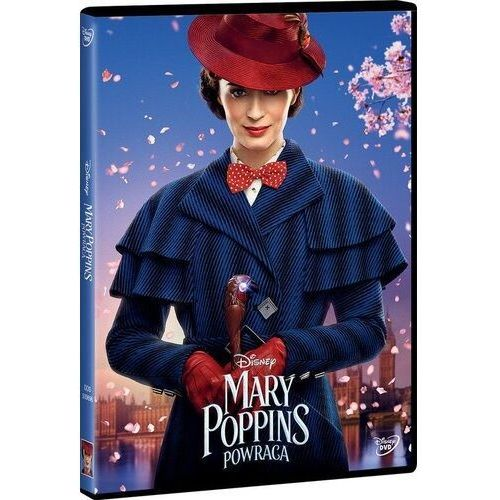 Rob marshall Mary poppins powraca (dvd) (płyta dvd) (7321940506968)