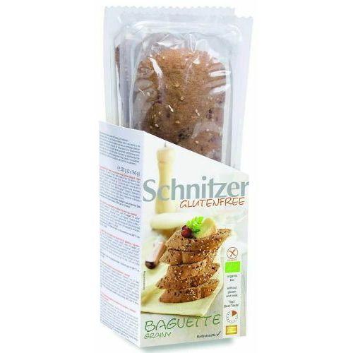 Bagietka kukurydziana z nasionami oleistymi do zapiekania bezglutenowe bio 320 g schnitzer marki Ecor