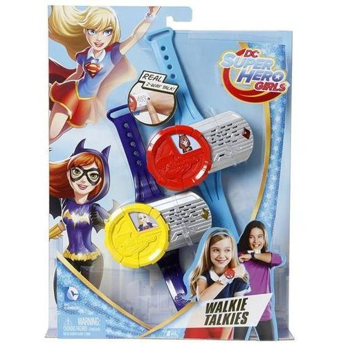 Dc super hero girls - walkie talkie superbohaterki dnh03 marki Mattel
