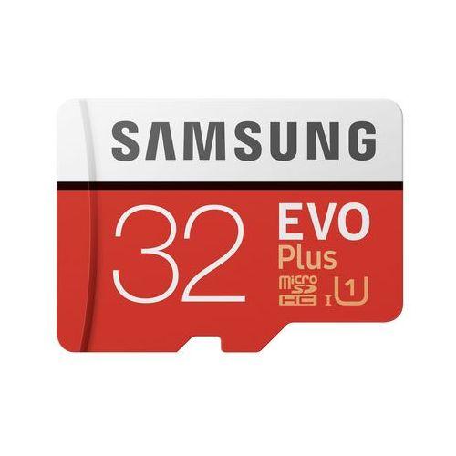 Karta pamięci Samsung MICRO SD CARD 32GB EVO + - MB-MC32GA/EU Darmowy odbiór w 21 miastach!, MB-MC32GA/EU