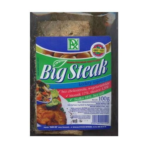 Kotlet sojowy big steak 100g radix marki Radix-bis