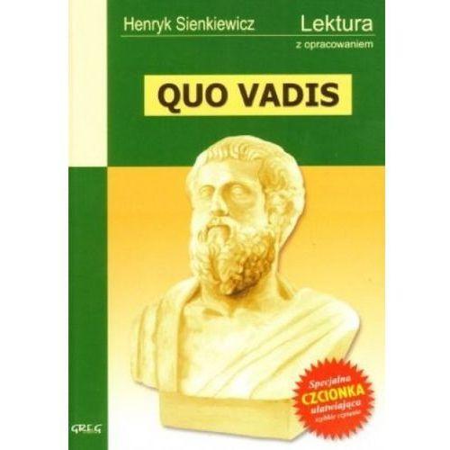 Quo vadis. Lektura z opracowaniem (459 str.)