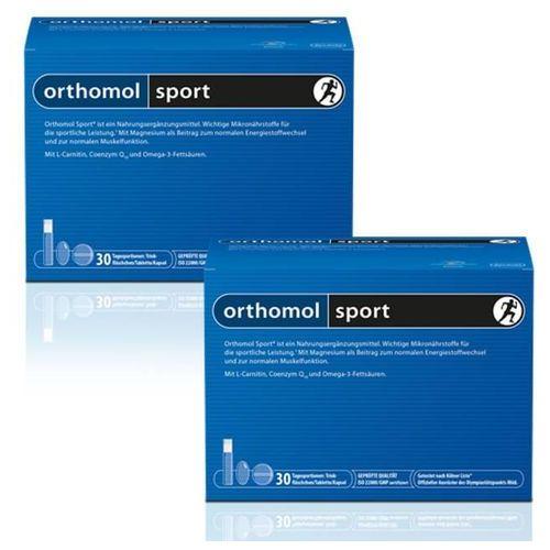 Orthomol Sport ampułka + kapsułka + tabletka zestaw 2x30 szt. z kategorii Pozostałe odżywki dla sportowców
