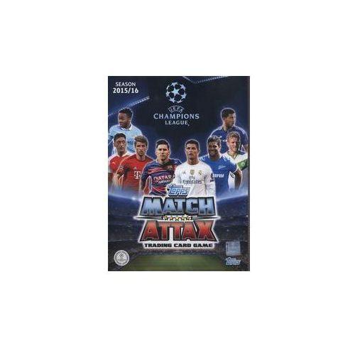 Topps Match Attack Liga mistrzów Album kolekcjonerski na karty