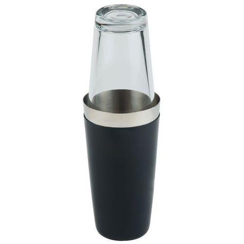 Shaker bostoński ze szklanką 0,7 l, czarny | , 93139 marki Aps