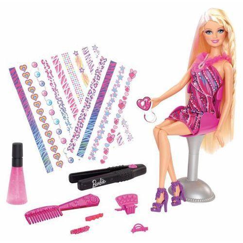 Zabawka MATTEL Barbie fantastyczne pasemka + akcesoria do włosów dla dziewczynek - sprawdź w ELECTRO.pl