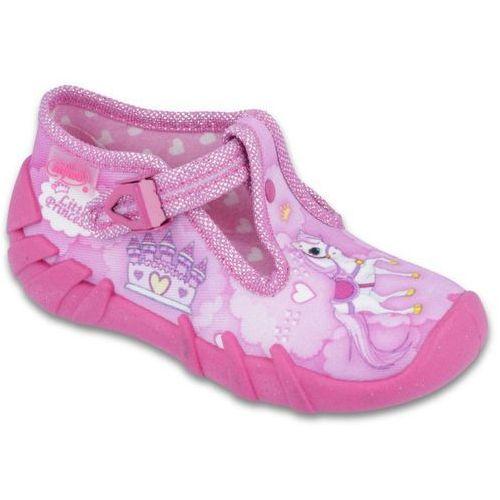 03af254fed ... buty dziewczęce speedy 19 różowy marki Befado 55