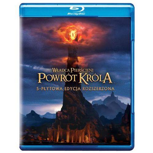 Galapagos films Władca pierścieni: powrót króla edycja rozszerzona (wydanie 5 dysków) 7321999322588