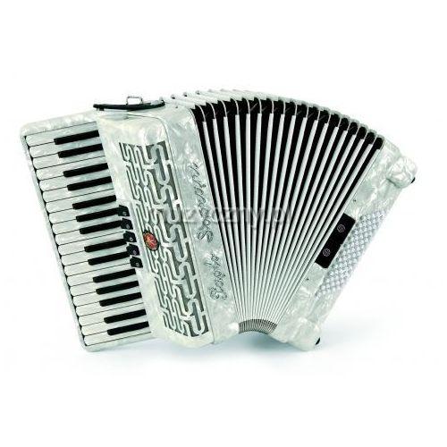 studio 72 34/3/5 72/4/2 akordeon (biały perłowy) marki Paolo soprani