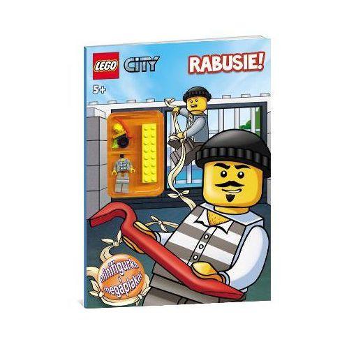 KSIĄŻKA LEGO CITY - RABUSIE