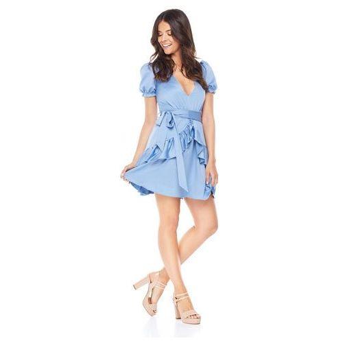 Sukienka erica w kolorze błękitnym, Sugarfree, 34-40