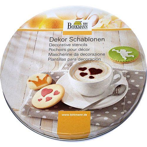 Birkmann Szablony do dekoracji ciasteczek i kawy cappuccino (450 226)