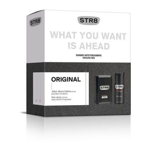 STR 8 Original Zestaw prezentowy (dezodorant spray 150ml+płyn po goleniu 50ml) (5900536323176)