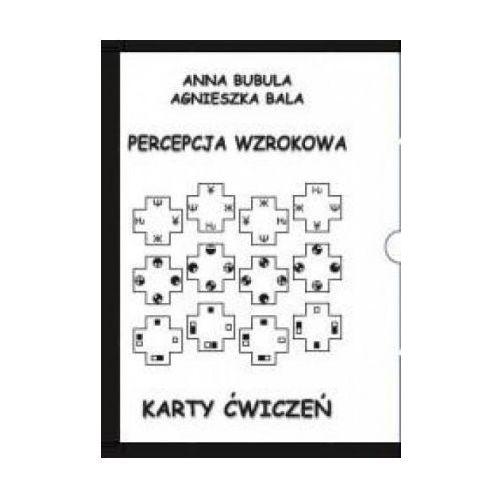 Karty ćwiczeń. Percepcja wzrokowa - Anna Bubula, Agnieszka Bala, Arson