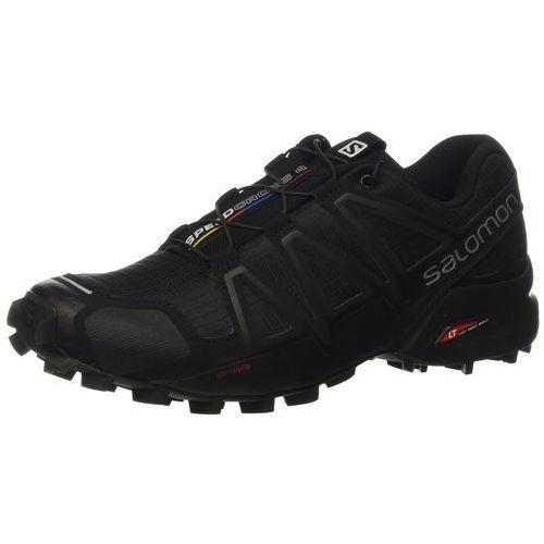 Buty do biegania w terenie speedcross 4 dla mężczyzn, kolor: czarny (schwarz/schwarz/schwarz-metallik), rozmiar: 41.3 eu marki Salomon