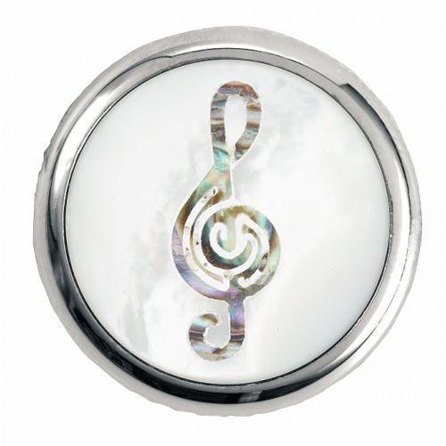 Warwick regler knopf, rund 6mm, clef, cr gałka potencjometru, round 6mm, clef, cr
