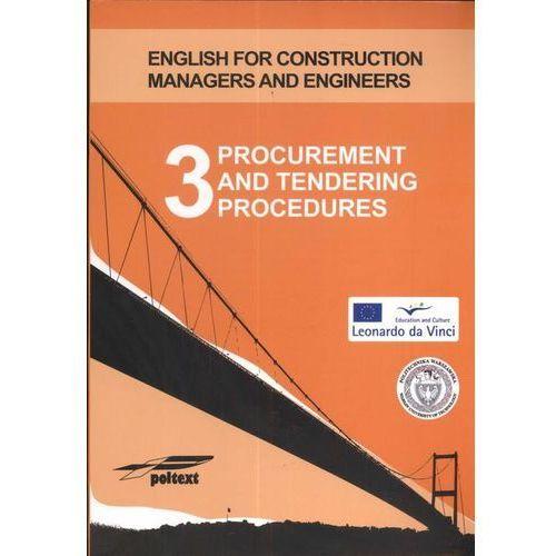 Procurement and tendering procedures 3 (+ CD), Poltext