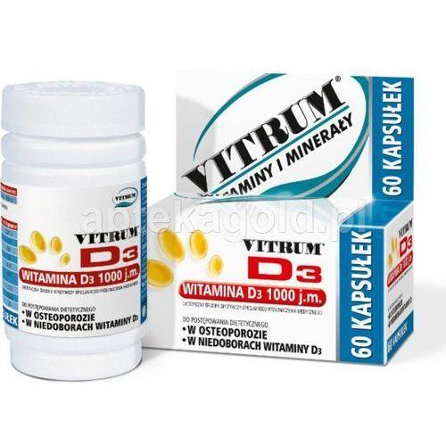Vitrum d3 x 60 kaps (na osteoporozę)