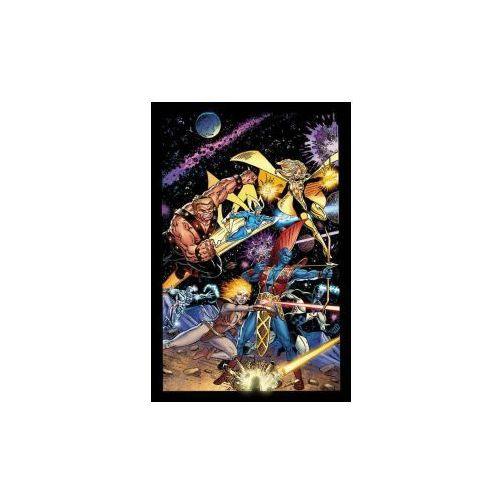 Guardians Of The Galaxy Classic By Jim Valentino Omnibus (9781302904395)