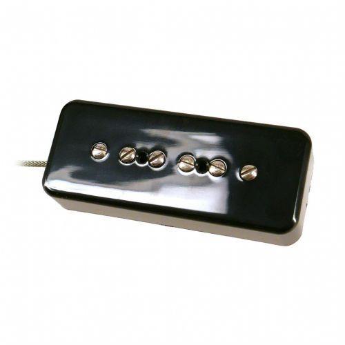 Nordstrand np9.0, hot p90 style pickup, hot wind, soapbar shape, black cover - neck przetwornik do gitary