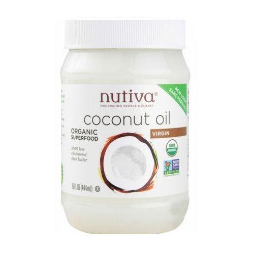 Olej kokosowy organiczny naturalny 444g