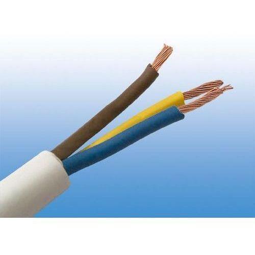 Elektrokabel przewód mieszkaniowy 300/300v omy 3x0,75 od producenta Tele-fonika kable sp.z o.o.