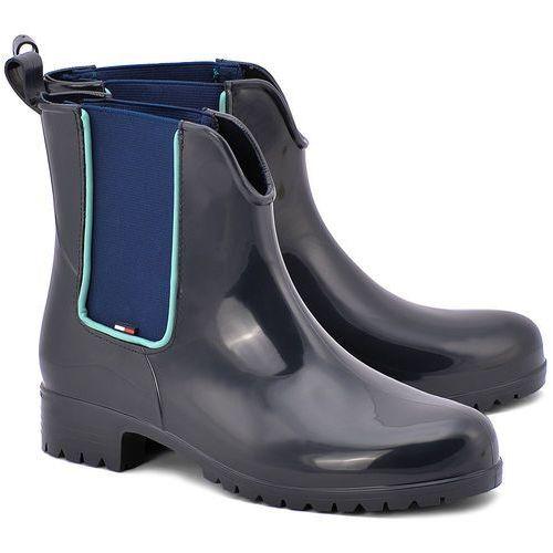 Oxley 5R - Granatowe Gumowe Kalosze Damskie - FW56818750 403 (kalosz damski) od MIVO Shoes Shop On-line