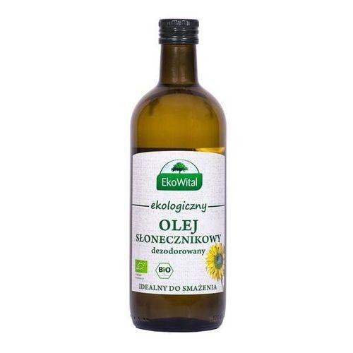 Olej słonecznikowy do smażenia BIO 1 l EkoWital, 5934