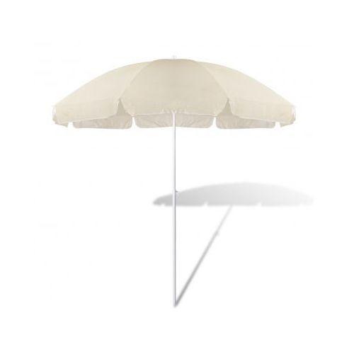 Parasol plażowy, piaskowy (240cm)., vidaXL z VidaXL