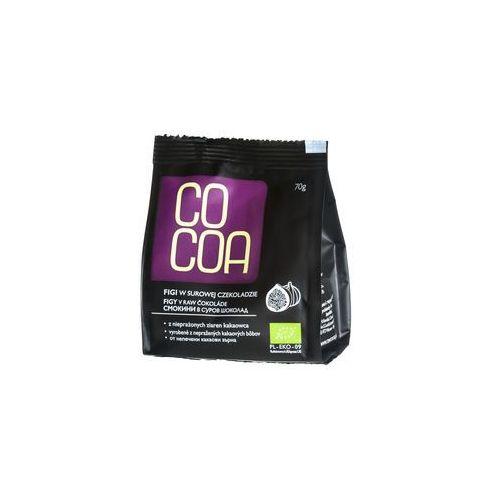 Cocoa Figi w surowej czekoladzie bio 70g -