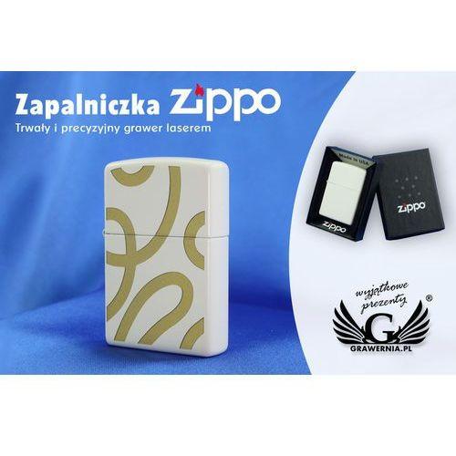 Zippo Zapalniczka regular white matte