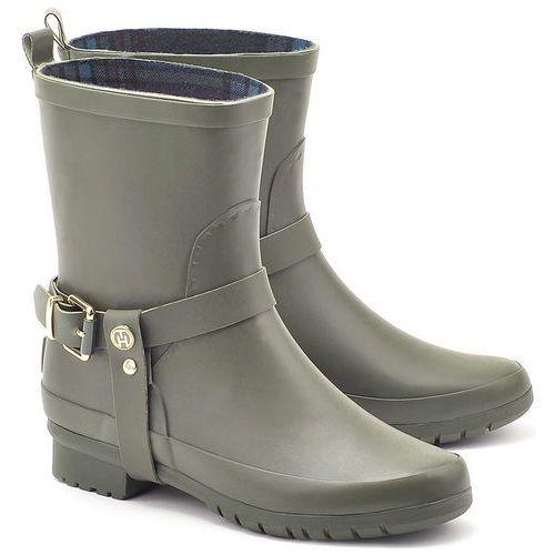 Oana 1R - Zielone Gumowe Kalosze Damskie - FW56817659 326 (kalosz damski) od MIVO Shoes Shop On-line