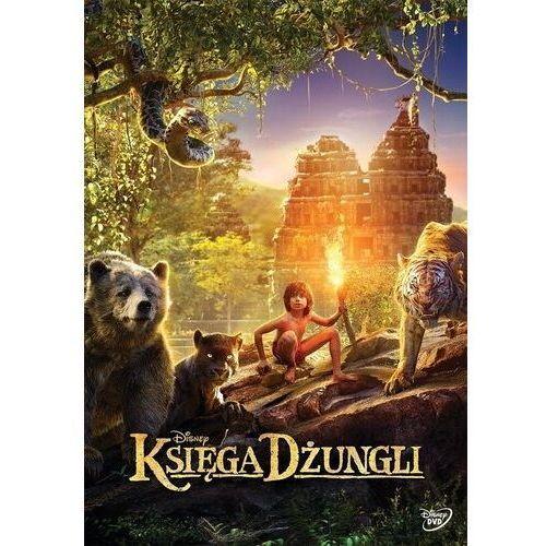Jon favreau Księga dżungli (dvd) - darmowa dostawa kiosk ruchu (7321917505819)
